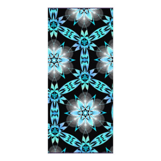 Abstract Art Customized Rack Card