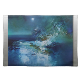 abstract art designs placemat