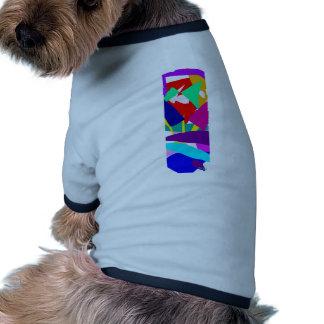Abstract Art Dog Tee Shirt