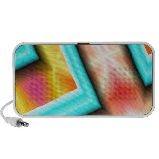 Abstract Art Doodle Speakers