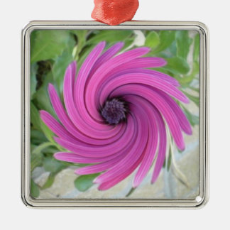 ABSTRACT ART FLOWER CHRISTMAS TREE ORNAMENTS