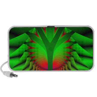 Abstract Art  - Fractal Tree - Doodle Speakers