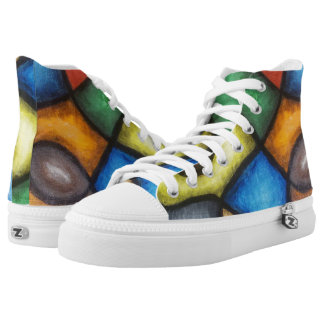 Abstract Art | High Top Sneakers