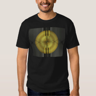 Abstract Art in grey yellow by Tutti Tee Shirts
