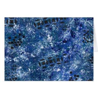 Abstract Art Interstellar Card