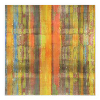 Abstract Art Invitation Card