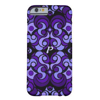 Abstract Art iPhone 6 case in Purple Barely There iPhone 6 Case