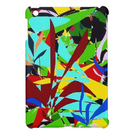 Abstract Art Jungle plants Cover For The iPad Mini