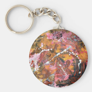 Abstract Art Key Chain