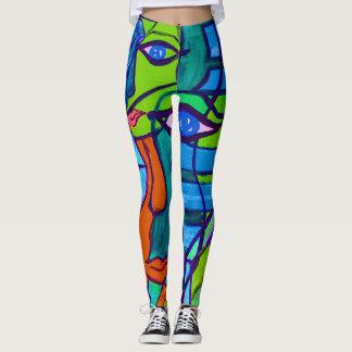 Abstract Art Leggings