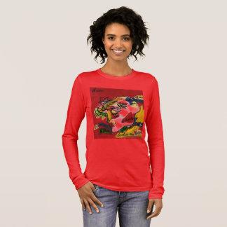 Abstract art long sleeve t-shirt