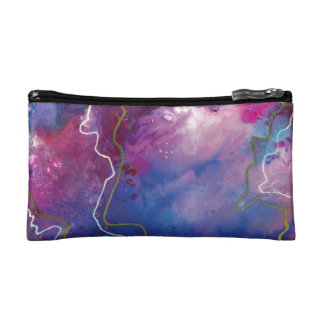 Abstract Art Makeup Bag