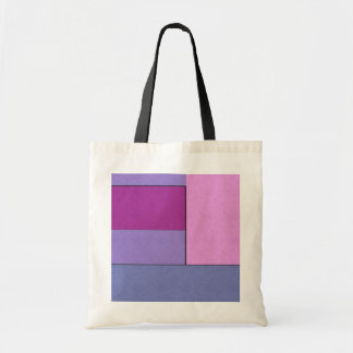 Abstract Art Modern Geometric Color Fields Retro Canvas Bags