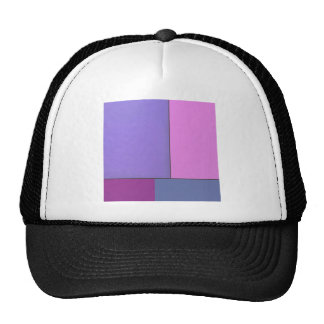 Abstract Art Modern Geometric Color Fields Retro Hat