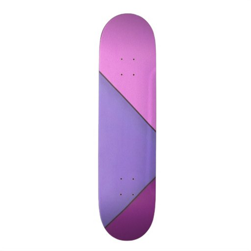 Abstract Art Modern Geometric Color Fields Retro Skate Boards