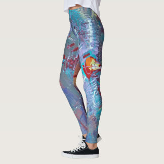 Abstract Art Multicolor Leggings! Leggings