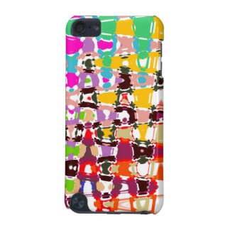Abstract Art - multicolored triangles & shapes iPod Touch (5th Generation) Cases