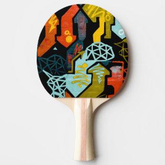 Abstract Art of Arrows Ping Pong Paddles