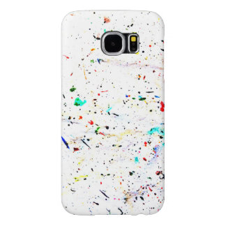 Abstract Art Paint Splashes and Spots Samsung Galaxy S6 Cases