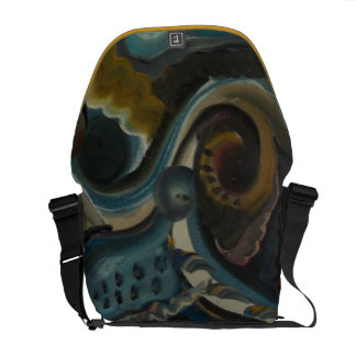 AbStRaCt ArT PaInTing CoMmUtEr BaG!!!! Messenger Bags