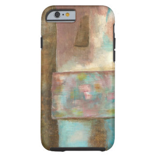 Abstract Art Painting Pastel Fantasy Castle Window Tough iPhone 6 Case