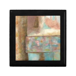 Abstract Art Pastel Painting Fantasy Castle Window Gift Box