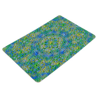 Abstract Art Patterns Floor Mat