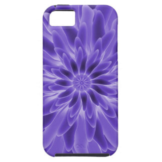 Abstract Art Periwinkle Flower iPhone 5 Case