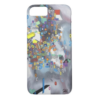"Abstract Art Phone Case ""Pool Day"""