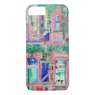 "Abstract Art Phone Case ""Spa Day"""