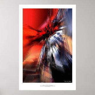 Abstract Art Print - Quintus #3