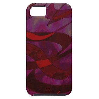 Abstract Art Purple Haze Tough iPhone 5 Case