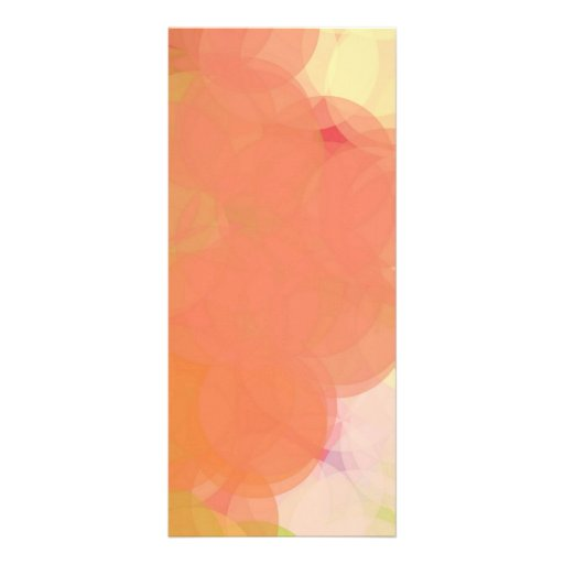 Abstract Art Full Color Rack Card