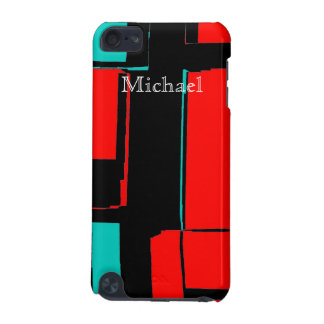 Abstract Art Red Blue Black Cell Phone Case Cover