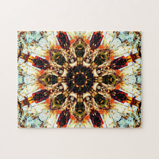 Abstract Art | Relaxation Mandala Jigsaw Puzzle