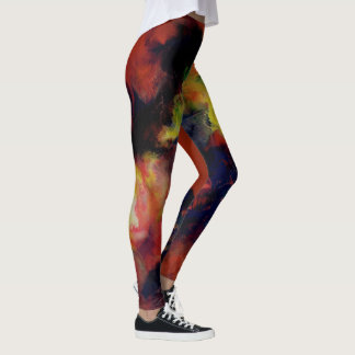 Abstract art rocks these Leggin's! Leggings