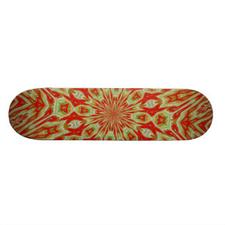 ABSTRACT ART SKATE BOARD DECK
