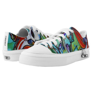 Abstract Art Sneakers