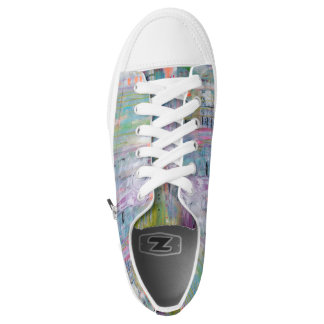 Abstract Art Tennis Shoes