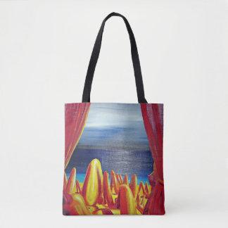 "Abstract Art Tote Bag ""Ladies"""