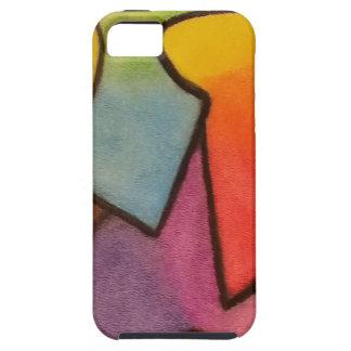 Abstract art tough iPhone 5 case