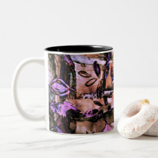 abstract art Two-Tone coffee mug