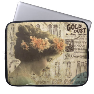 Abstract Art Vintage Girl Fashion Ads Case
