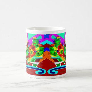 abstract art with donkey3 coffee mug