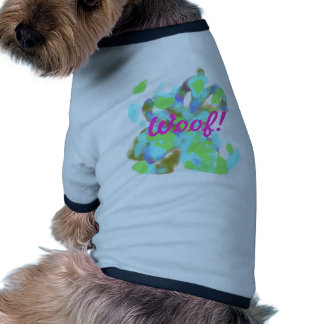 Abstract Artist Design Doggie T Shirt