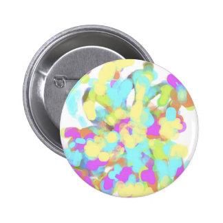 Abstract Artist Design Pinback Buttons