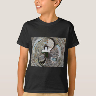 Abstract artistic background of rural house T-Shirt