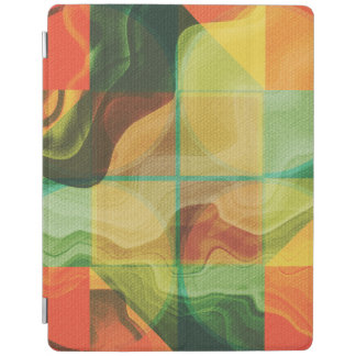 Abstract artwork iPad cover