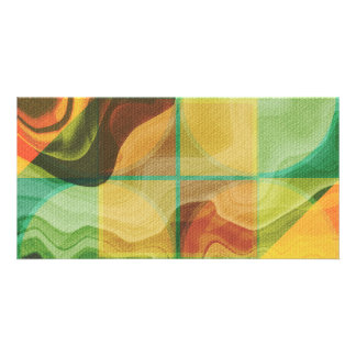 Abstract artwork photo greeting card