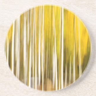 Abstract Aspens Coaster